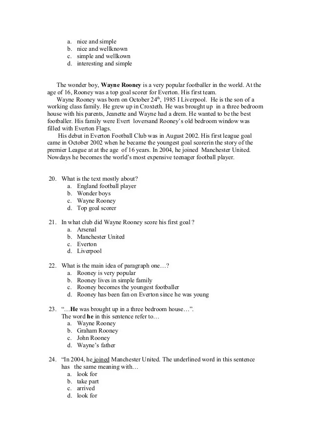Contoh Soal Descriptive Text Pilihan Ganda Dan Jawabannya Kelas 10 : contoh, descriptive, pilihan, ganda, jawabannya, kelas, Descriptive, Pilihan, Ganda, Beserta, Kunci, Jawaban, Stallard, Powered, Doodlekit