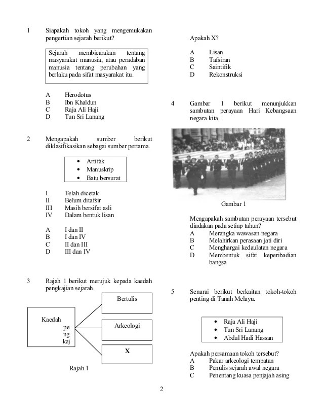 Soalan Sejarah Tingkatan 1 Terengganu N Cute766
