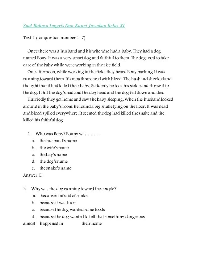 Contoh Soal Invitation Kelas 11 Beserta Jawabannya Dunia Dokter Andalan