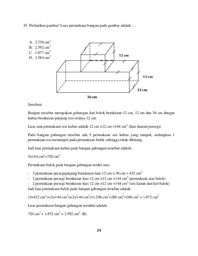 Contoh Soal Volume Bangun Ruang Gabungan : contoh, volume, bangun, ruang, gabungan, Contoh, Jawaban, Bangun, Ruang, Sosial, Cute766