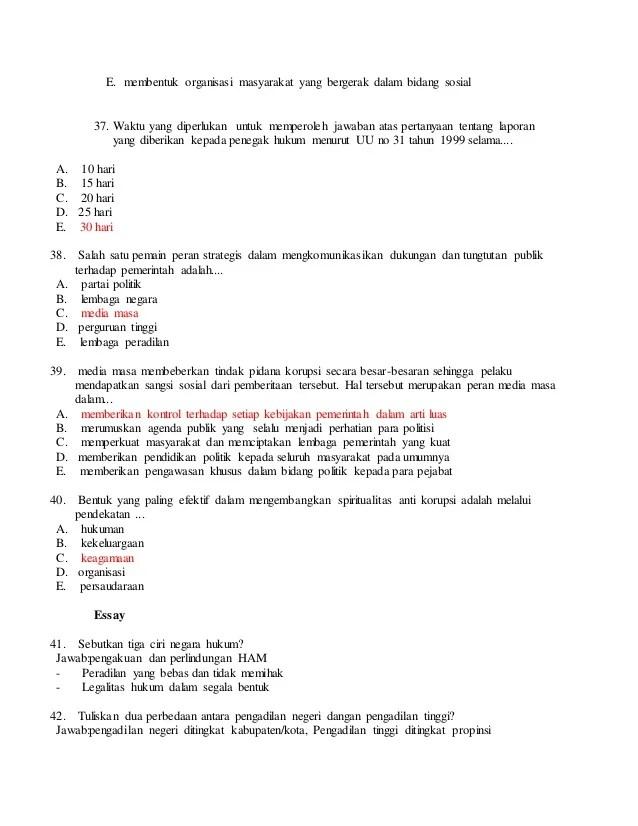 Soal Pilihan Ganda Tentang Perlindungan Dan Penegakan Hukum Kelas 12 : pilihan, ganda, tentang, perlindungan, penegakan, hukum, kelas, Contoh, Essay, Perlindungan, Penegakan, Hukum, Indonesia, Kumpulan, Pelajaran