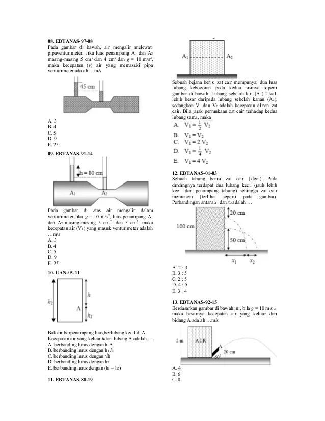 Gambar Venturimeter : gambar, venturimeter, Mengalir, Dalam, Venturimeter, Seperti, Tampak, Gambar, Tersebut, Sebutkan