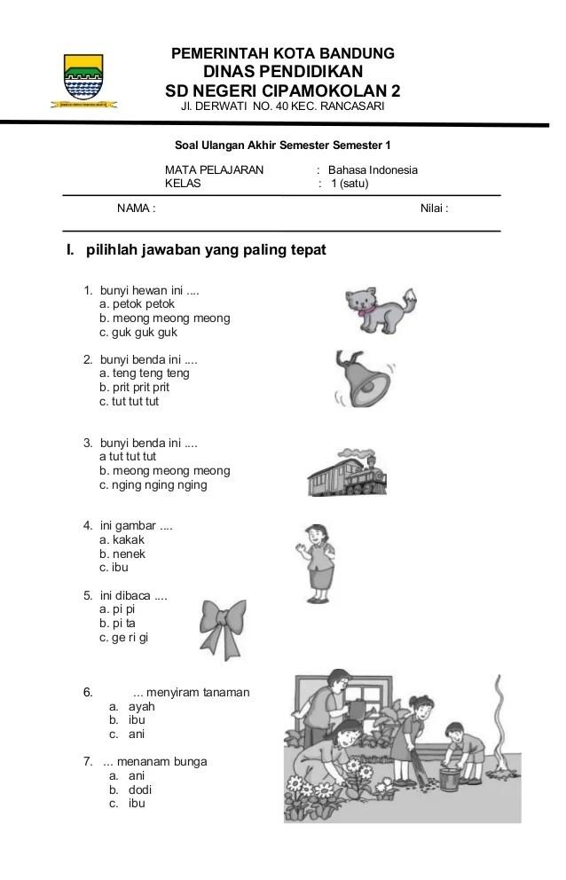 Soal Bhs Indonesia : indonesia, Indonesia, Kelas