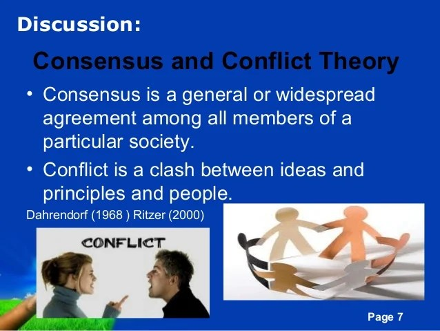 Example Of Conflict Theory Coursework Help