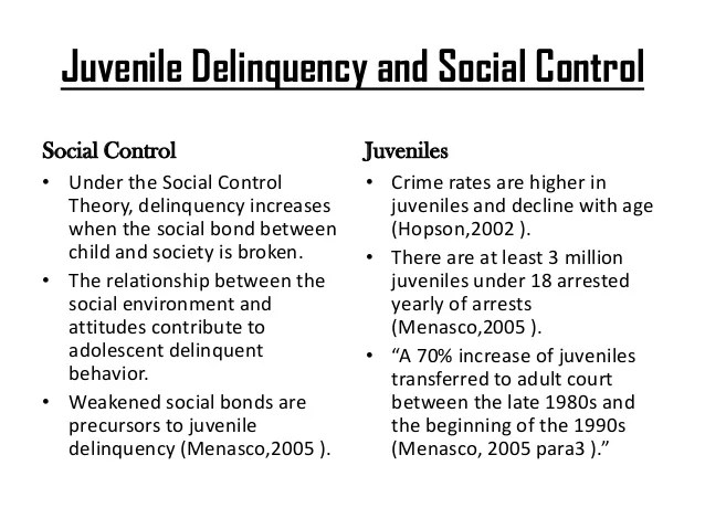 Social Control Theory Hospi Noiseworks Co