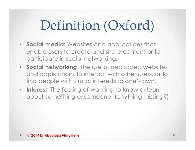 Social Media Socializing Or Social Sizing