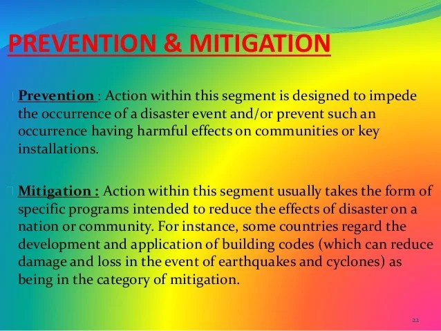 Disaster Management Ppt VIII And IX Class Social Project