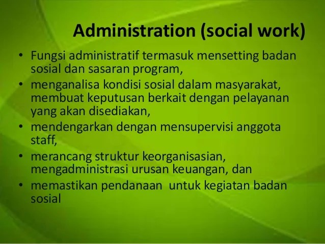 Social work as a profession 2012