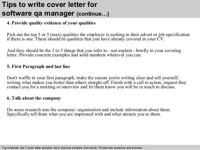 Covering Letter For Qa Job   Resume Skills For Server