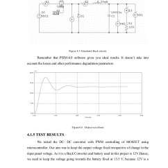 Pwm Solar Charge Controller Circuit Diagram Trailer Wiring 5 Way 38 Figure 4 Simulated Buck