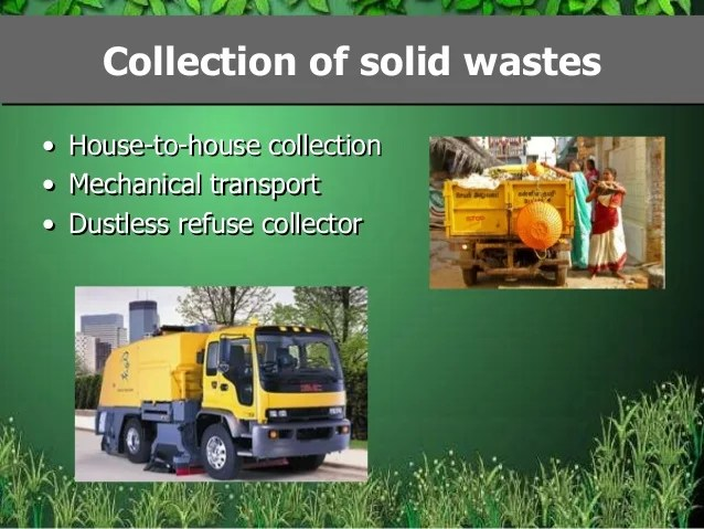 Solid waste and waste management