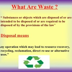 Kitchen Waste Disposal Moveable Islands Seminar Presentation Ppt On Solid Management
