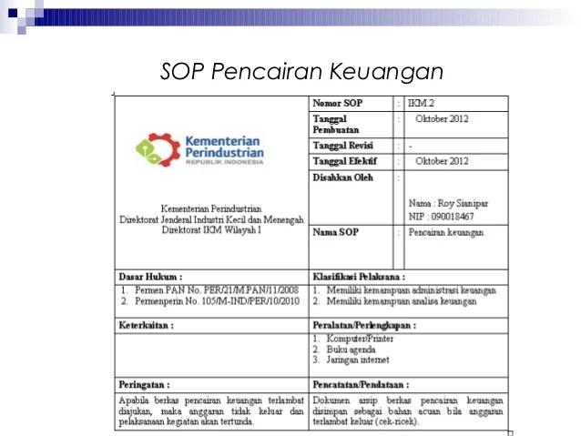 SOP Administrasi Pemerintahan