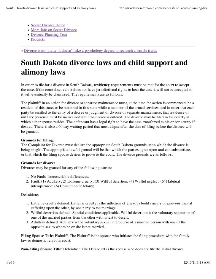 Child Support Florida Laws
