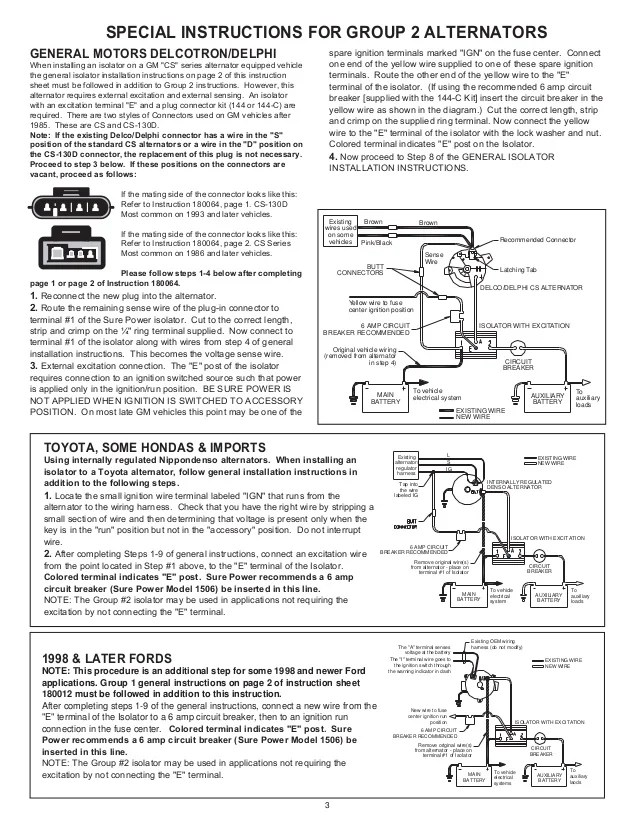sure power battery isolator wiring diagram vw sharan radio industries model 9523a 48 surepower diode installation instruction 3 638 cbd1458303835 efcaviation