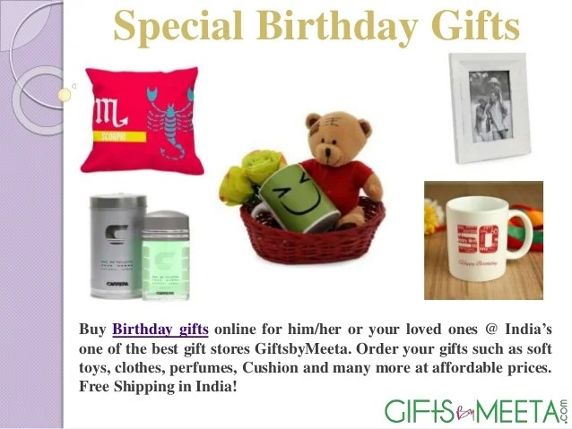 Special Birthday Gifts For Him Her