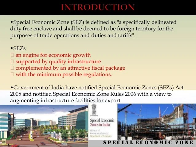 Image result for Special Economic Zone MEANING