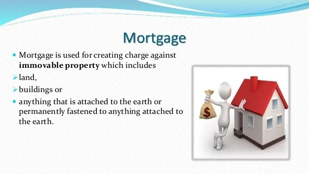 Mortgage Pledge Hypothetication Lien Charge 1st And 2nd