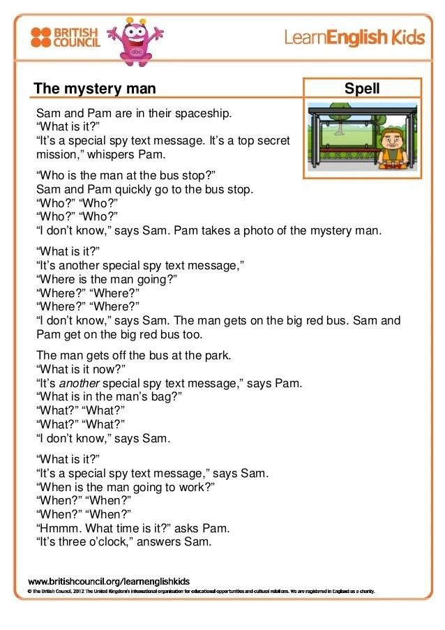 Spell Message : spell, message, Spell, The-mystery-man-transcript