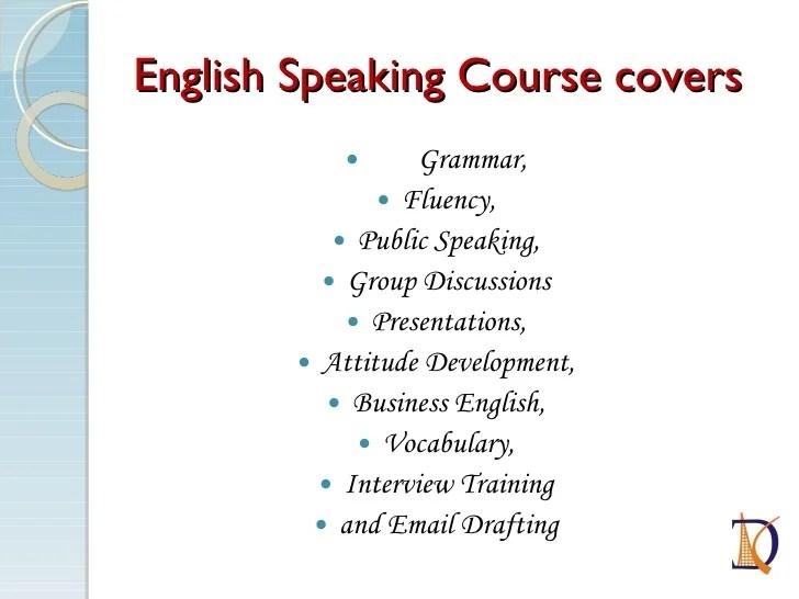 Spoken English Presentation Vadodara