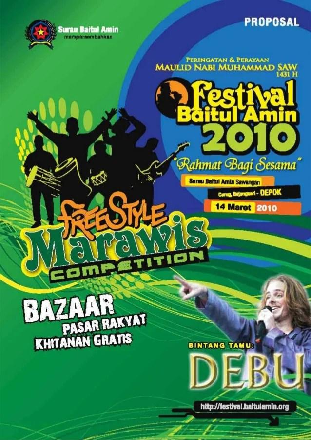 Proposal Festival Baitul Amin 2010