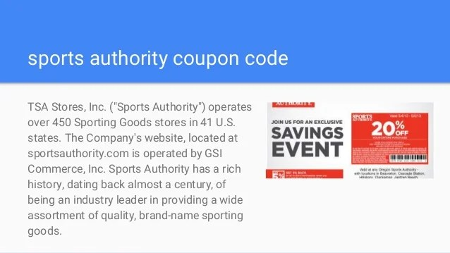 sports authority coupons printable coupon 25