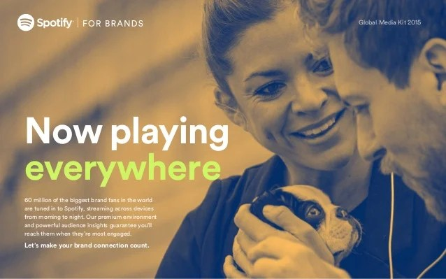 Spotify for Brands Global Media Kit