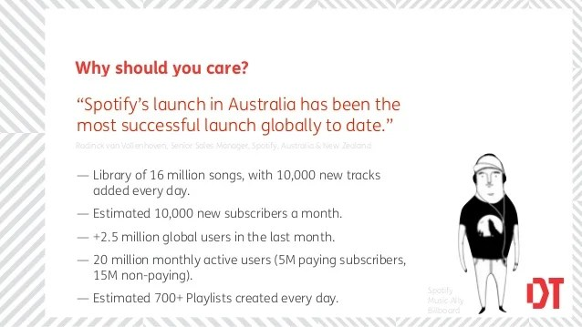 Why should you careSpotifys launch