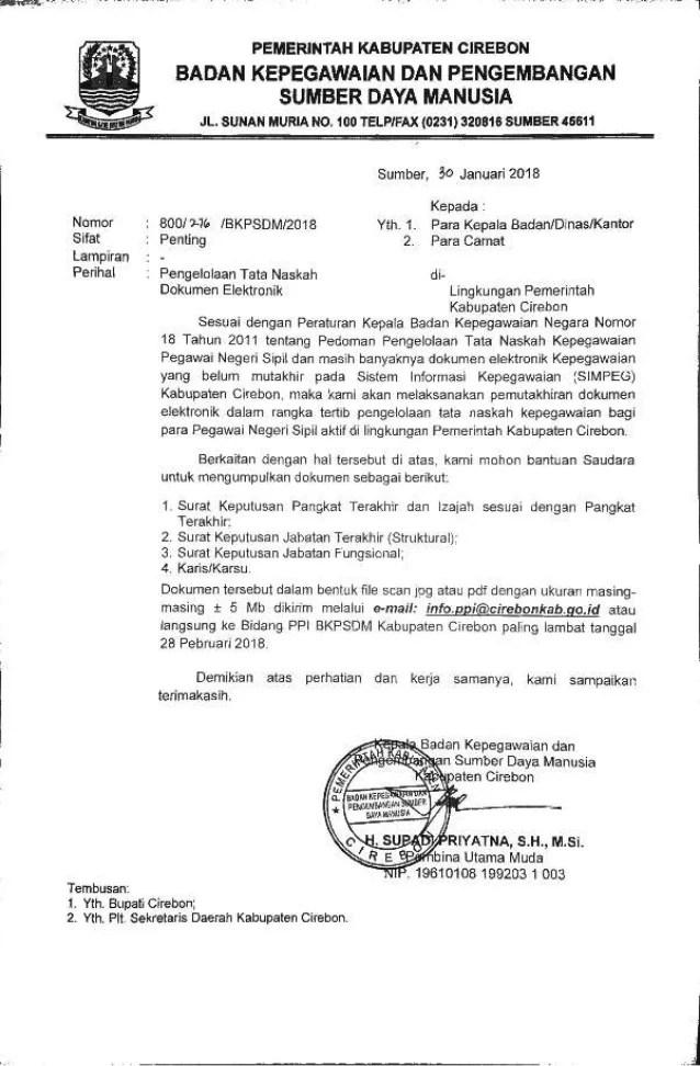 Bkpsdm Kab Cirebon : bkpsdm, cirebon, Elektronik
