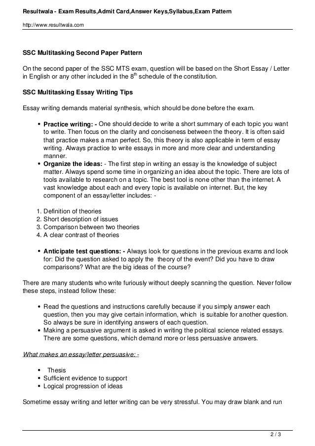 Basics of Writing An Effective Essay – GNIST