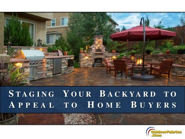 staging your backyard to appeal to home buyers