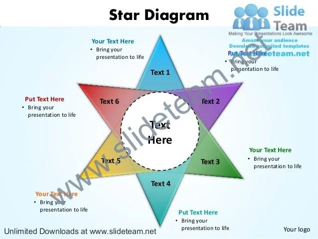 Star diagram powerpoint slides presentation diagrams templates