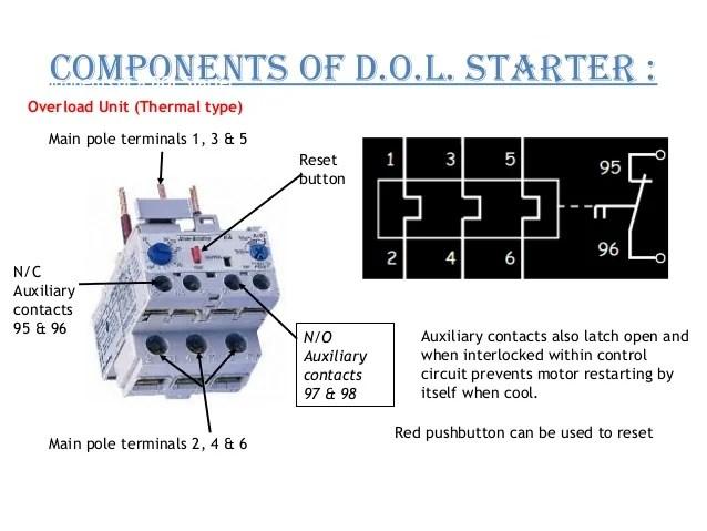 110 Volt Schematic Wiring Direct Online Starter Dol Starter