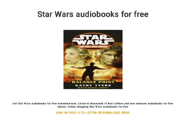 star wars audiobooks for