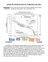 The gallery for --> Hertzsprung Russell Diagram Worksheet