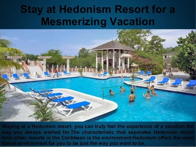 Find The Vacation Parties In Hedonism Resort Jamaica