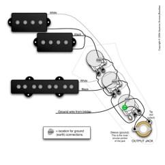 Yamaha Guitar Wiring Diagram 2009 Club Car Circuito Para Bajo Electrico Estandar Pasivo