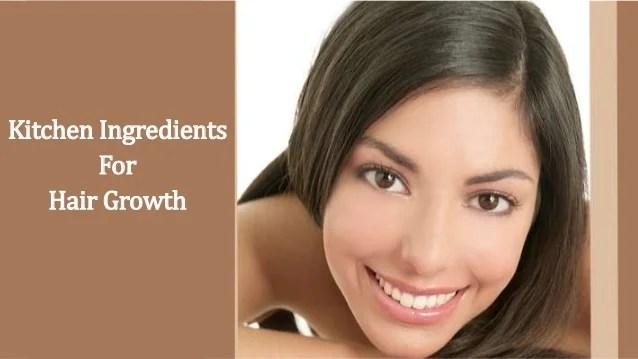 Kitchen Ingredients Hair Growth