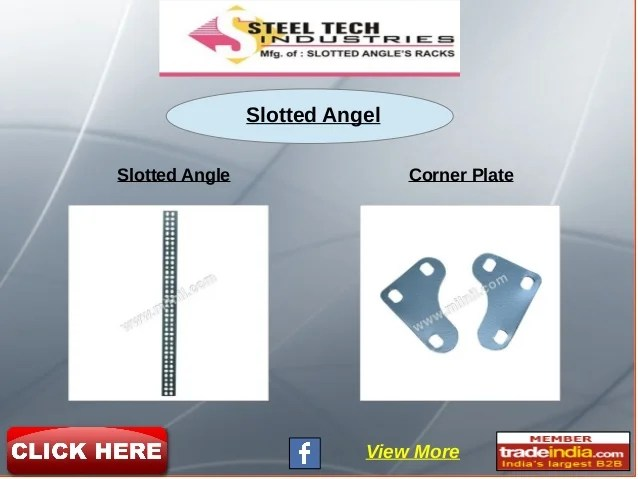 folding chair in rajkot covers at spotlight steel tech industries gujarat india slotted angel angle corner plate view more
