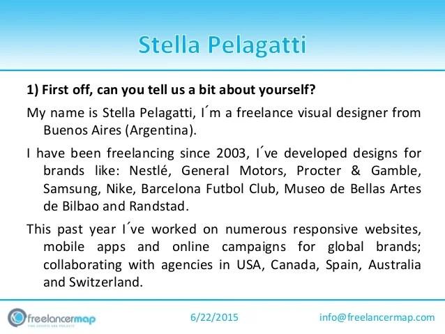 Stella Pelagatti Visual Designer