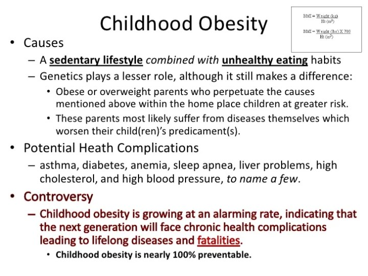 Cause and effect essay for obesity