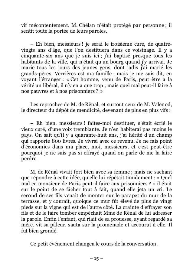 En Rouge Et Noir Parole : rouge, parole, Stendhal-Le, Rouge