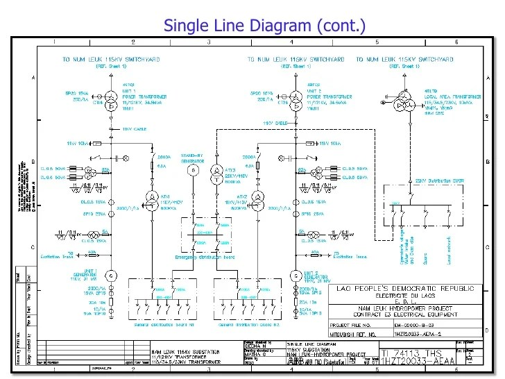 Step1 Single Line Diagram