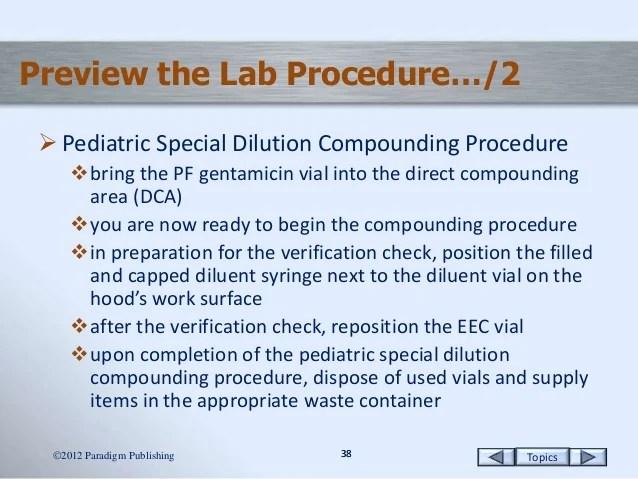 Pediatric Preparations