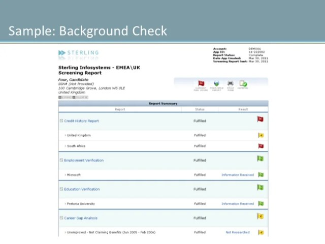 Background Check For Employers In California  Background Slide