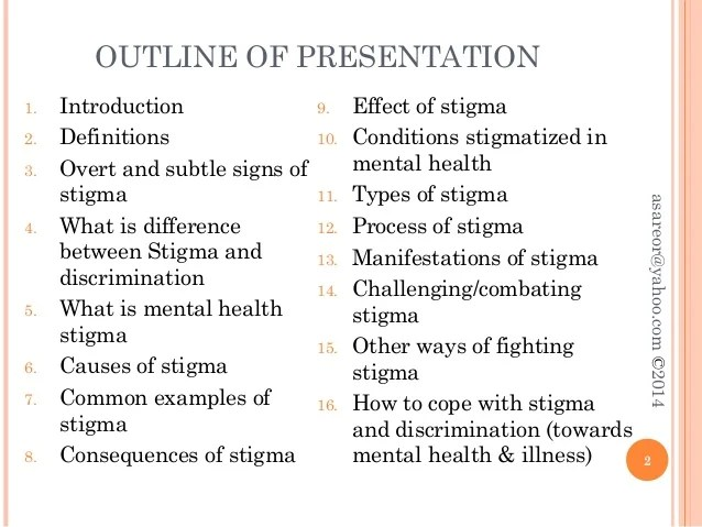 Stigmas Of Mental Illness In Healthcare Term Paper Academic Service