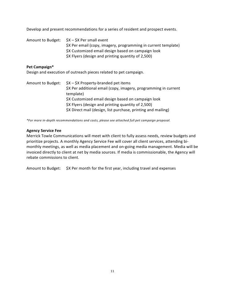 Strategic Marketing Proposal