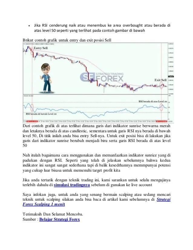 Teknik Trading Sederhana Tapi Profit : teknik, trading, sederhana, profit, Strategi, Forex, Sederhana, Dengan, Teknik, Sunrise