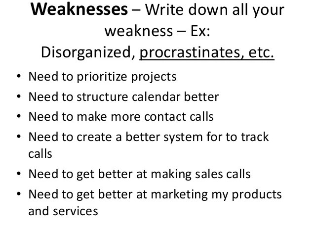 strengths and weaknesses examples yeni mescale co