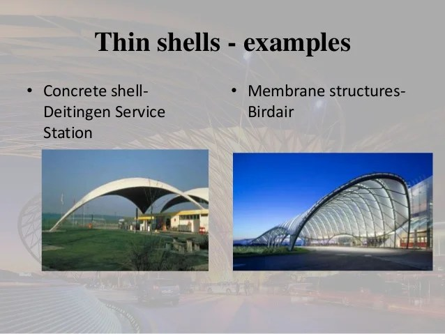 FOLDED PLATES AND SHELL STRUCTURES